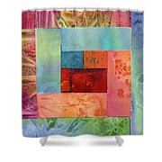 Log Cabin 1003 Shower Curtain