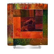 Log Cabin 4006 Shower Curtain