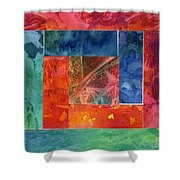 Log Cabin 5007 Shower Curtain