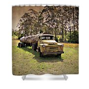 Log Mover Shower Curtain