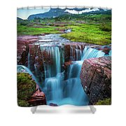 Logan Pass Abyss Shower Curtain