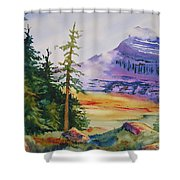 Logan Pass Shower Curtain