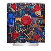Logic And Emotion 4 Shower Curtain