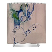 Logical Thought Shower Curtain