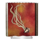 Loiter Quickly Shower Curtain