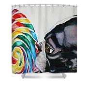 Lolli Pup Shower Curtain