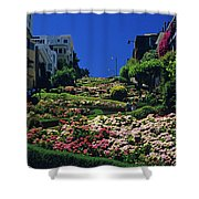 Lombard Street  Shower Curtain