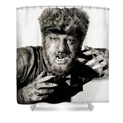 Lon Chaney, Jr. As Wolfman Shower Curtain