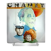Lon Chaney Sr Shower Curtain