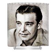 Lon Chaney, Vintage Actor Shower Curtain