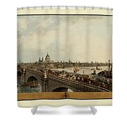 London 1802 Shower Curtain