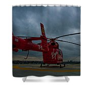 London Air Ambulance Shower Curtain