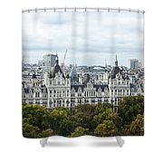 London Along The River Thames Shower Curtain