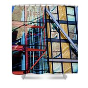 London Bankside Architecture 1 Shower Curtain