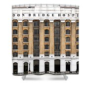London Bridge Hospital Shower Curtain