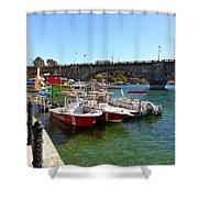 London Bridge, Lake Havasu Shower Curtain
