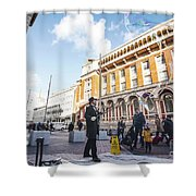 London Bubbles 11 Shower Curtain