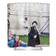 London Bubbles 6 Shower Curtain