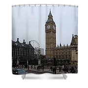 London City Shower Curtain