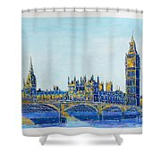 London City Westminster Shower Curtain