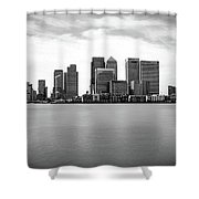 London Docklands Shower Curtain