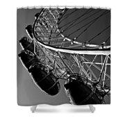 London Eye Shower Curtain by David Pyatt