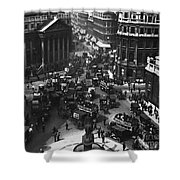 London: Financial District Shower Curtain