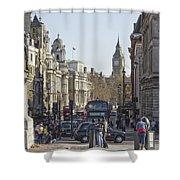 London Friends Shower Curtain