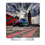 London In One Picture Shower Curtain