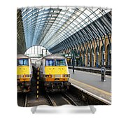 London King's Cross Station 1 Shower Curtain