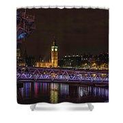 London Nights Shower Curtain