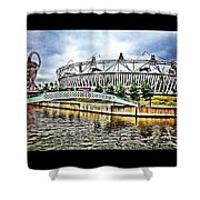 London Olympic Shower Curtain
