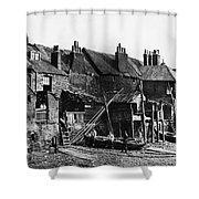 London: Riverside, C1860 Shower Curtain