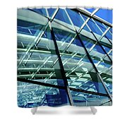 London Sky Garden Architecture 1 Shower Curtain