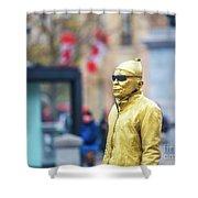 London Street Artists 2 Shower Curtain