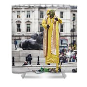 London Street Artists 4 Shower Curtain