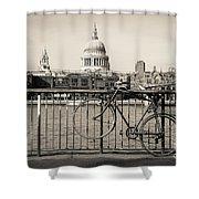 London Thames 1 Shower Curtain