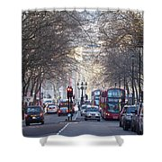 London Thoroughfare Shower Curtain
