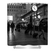 London Time Shower Curtain