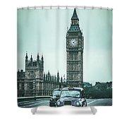 London Times Shower Curtain