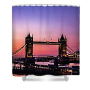 Tower Bridge, London. Shower Curtain