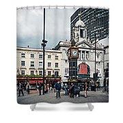 London - Victoria Station Shower Curtain