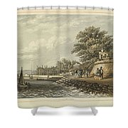 London West Cowes, Isle Of Wight Shower Curtain