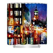 London's Lights Shower Curtain