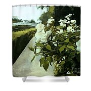 Londres Rose Ponts Shower Curtain