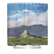 Lone Butte Shower Curtain