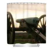 Lone Cannon Shower Curtain