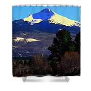 Lone Cone March 16 2018 Shower Curtain