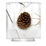Lone Cone Shower Curtain