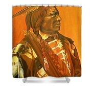Lone Flag Shower Curtain